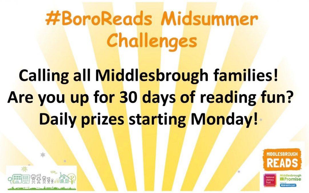 Middlesbrough Reads Midsummer Challenge
