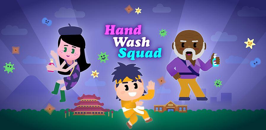 'Hand Wash Squad' app