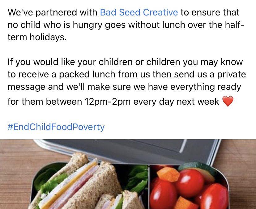 #endchildfoodpoverty – The Zetland Middlesbrough