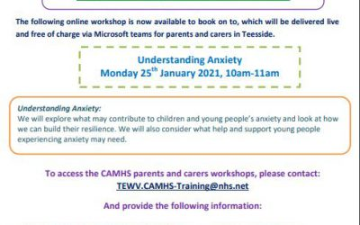 CAMHS workshop for parents and carers