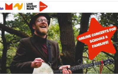 Live Concert – Thursday 28th January 2021 at 2pm